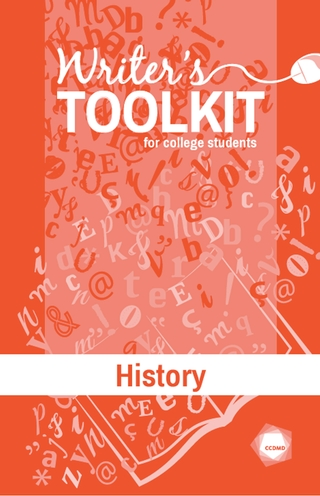 Writer's Toolkit for College Students - History
