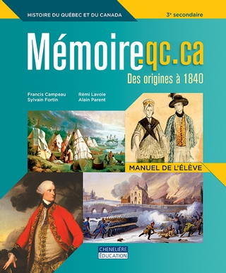 Mémoire.qc.ca - 2<sup>e</sup> cycle (3<sup>e</sup> secondaire) - Manuel