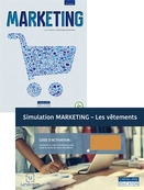 Combo - Marketing, 2<sup>e</sup> édition + Simulation Marketing - Les vêtements