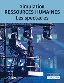 Simulation RESSOURCES HUMAINES - Les spectacles
