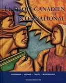LE DROIT CANADIEN ET INTERNATIONAL
