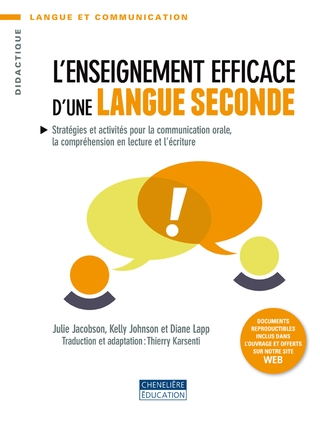 L'enseignement efficace d'une langue seconde