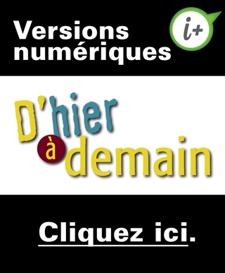 D'hier à demain - 1er cycle