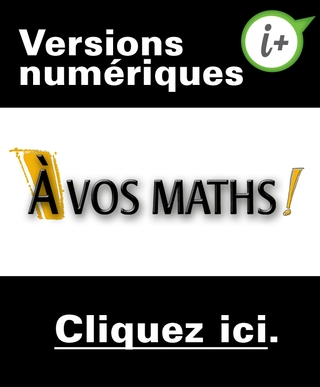 À vos maths ! - 1<sup>er </sup>cycle